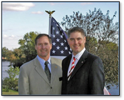 Lex Green for IL Governor (left) & Ed Rutledge for IL Lieutenant Governor (right) 2010